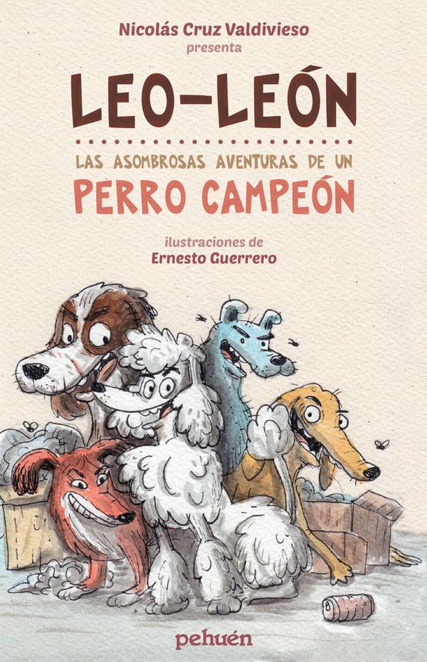 Imagen de apoyo de  Leo-León. Las asombrosas aventuras de un perro campeón