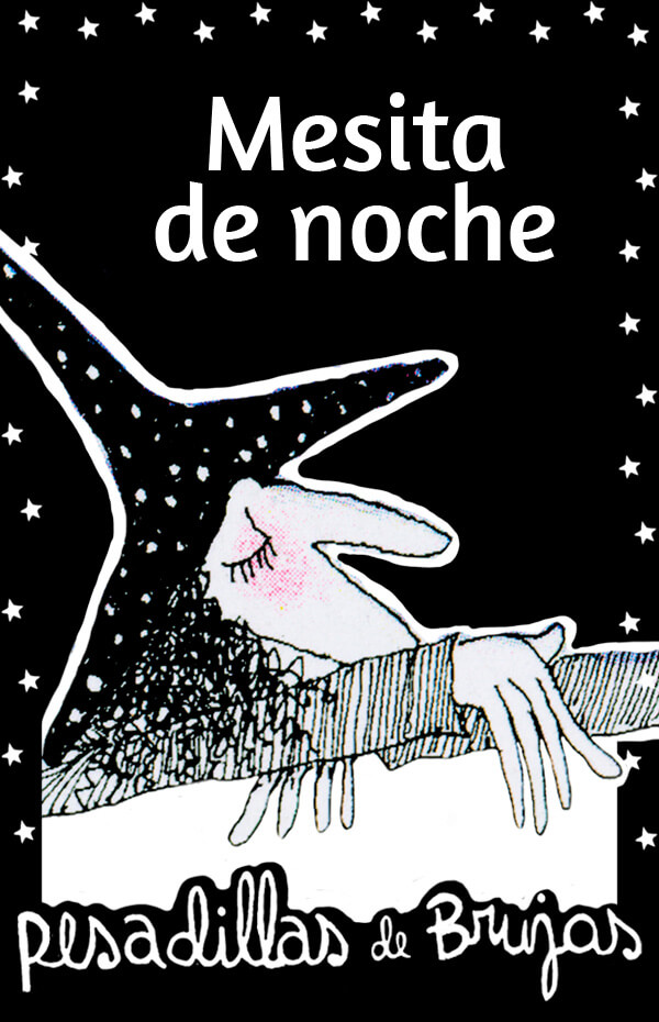 Imagen de apoyo de  Pesadillas de brujas: Mesita de noche